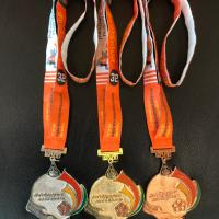 เหรียญรางวัลสุรนารีเกมส์ ครั้งที่ 32 (ด้านหลัง)