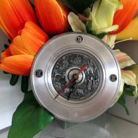 นาฬิกาจานโลหะ (ด้านหน้า)