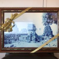 กรอบรูปเมืองปราสาทหินพิมาย (ด้านหน้า)